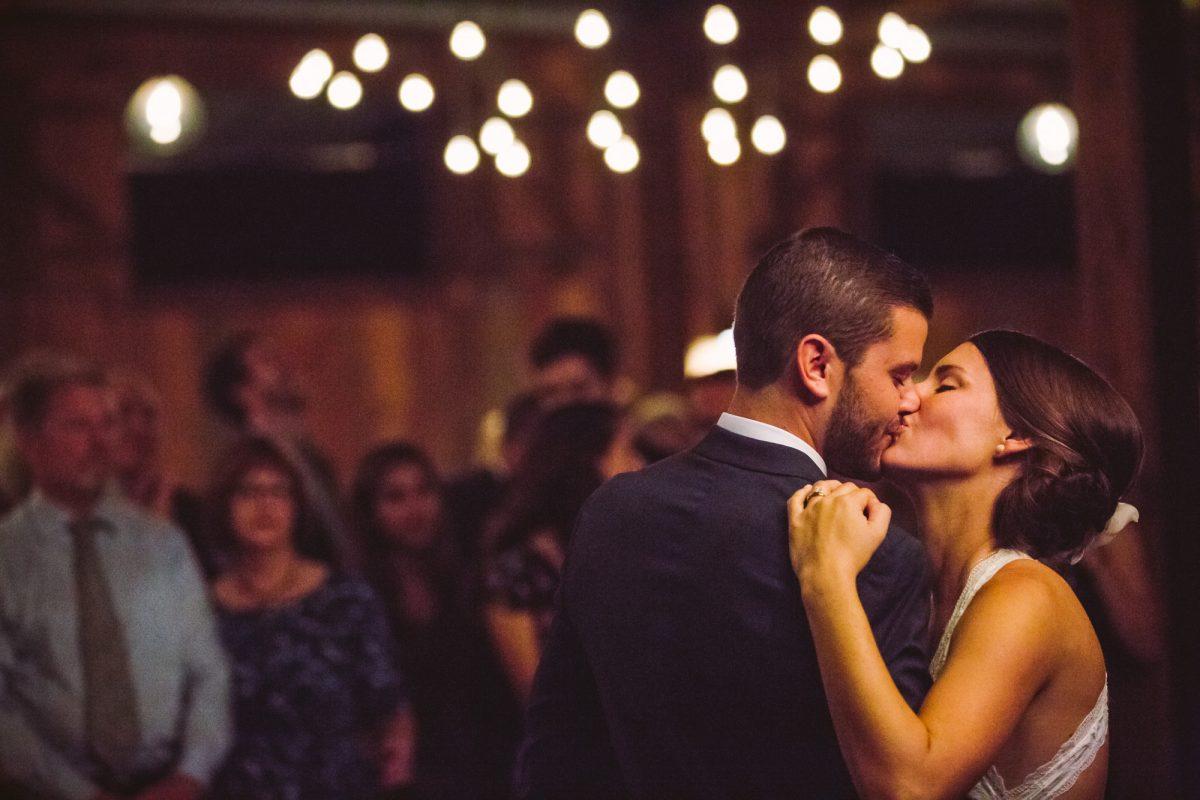First Dance The Vineyards at Betty's Creek Sylva NC Wedding Photographers