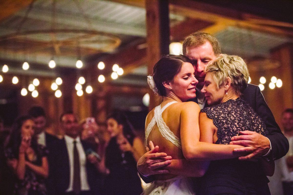 Father Daughter Dance The Vineyards at Betty's Creek Sylva NC Wedding Photographers