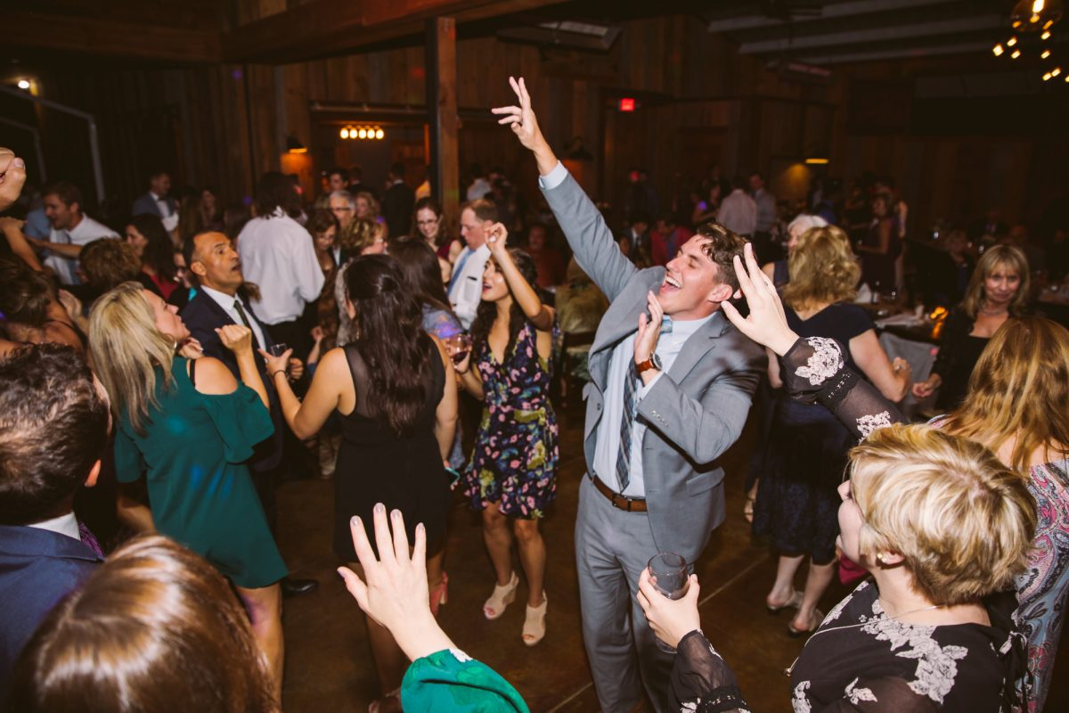 Dance Floor The Vineyards at Betty's Creek Sylva NC Wedding Photographers