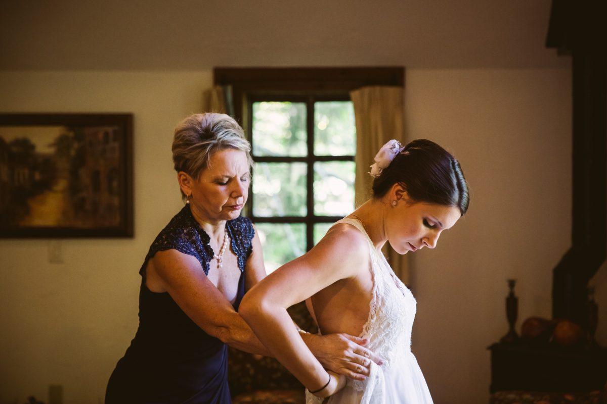 Prep Photo The Vineyards at Betty's Creek Sylva NC Wedding Photographers