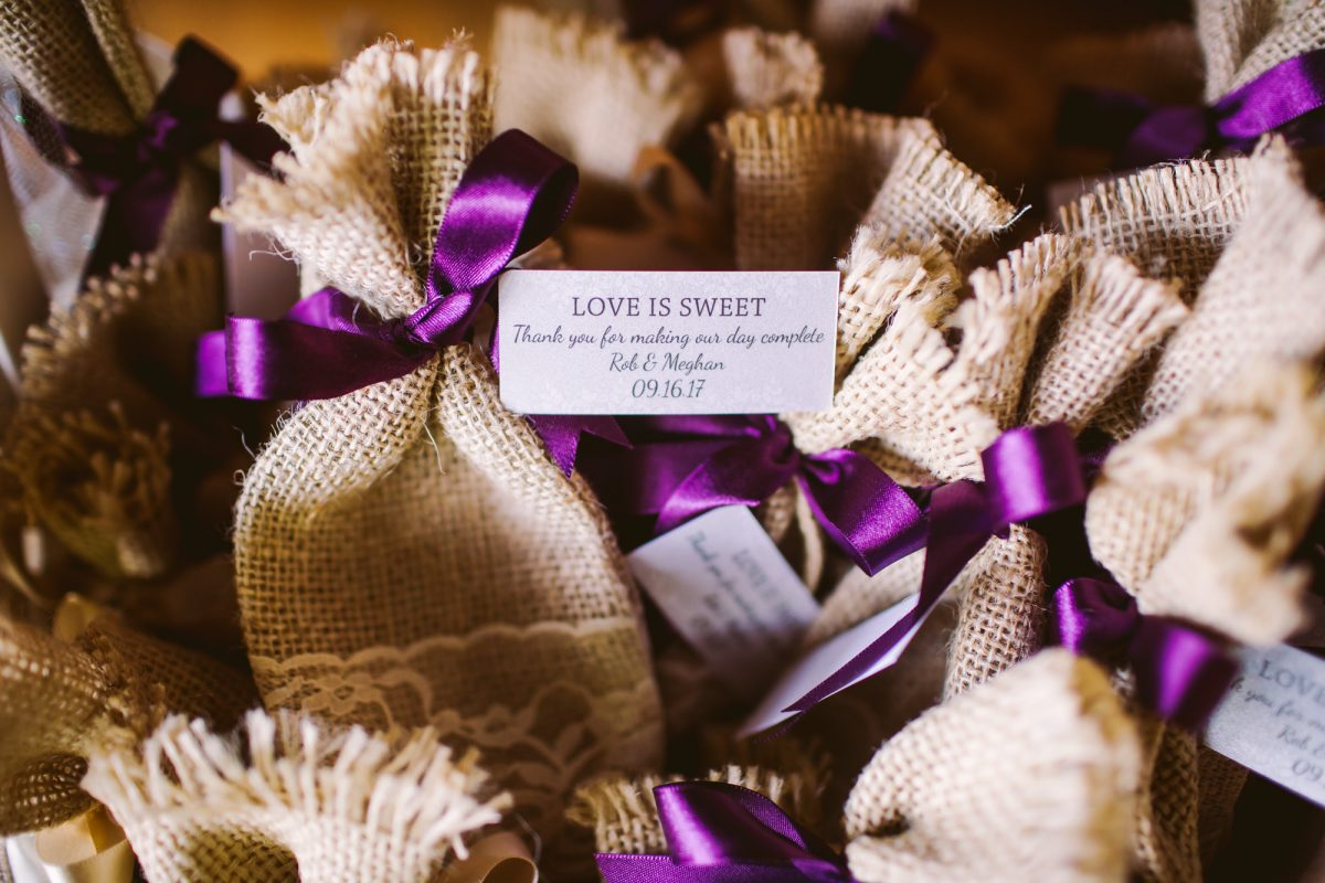 Love is Sweet Favor The Vineyards at Betty's Creek Sylva NC Wedding Photographers