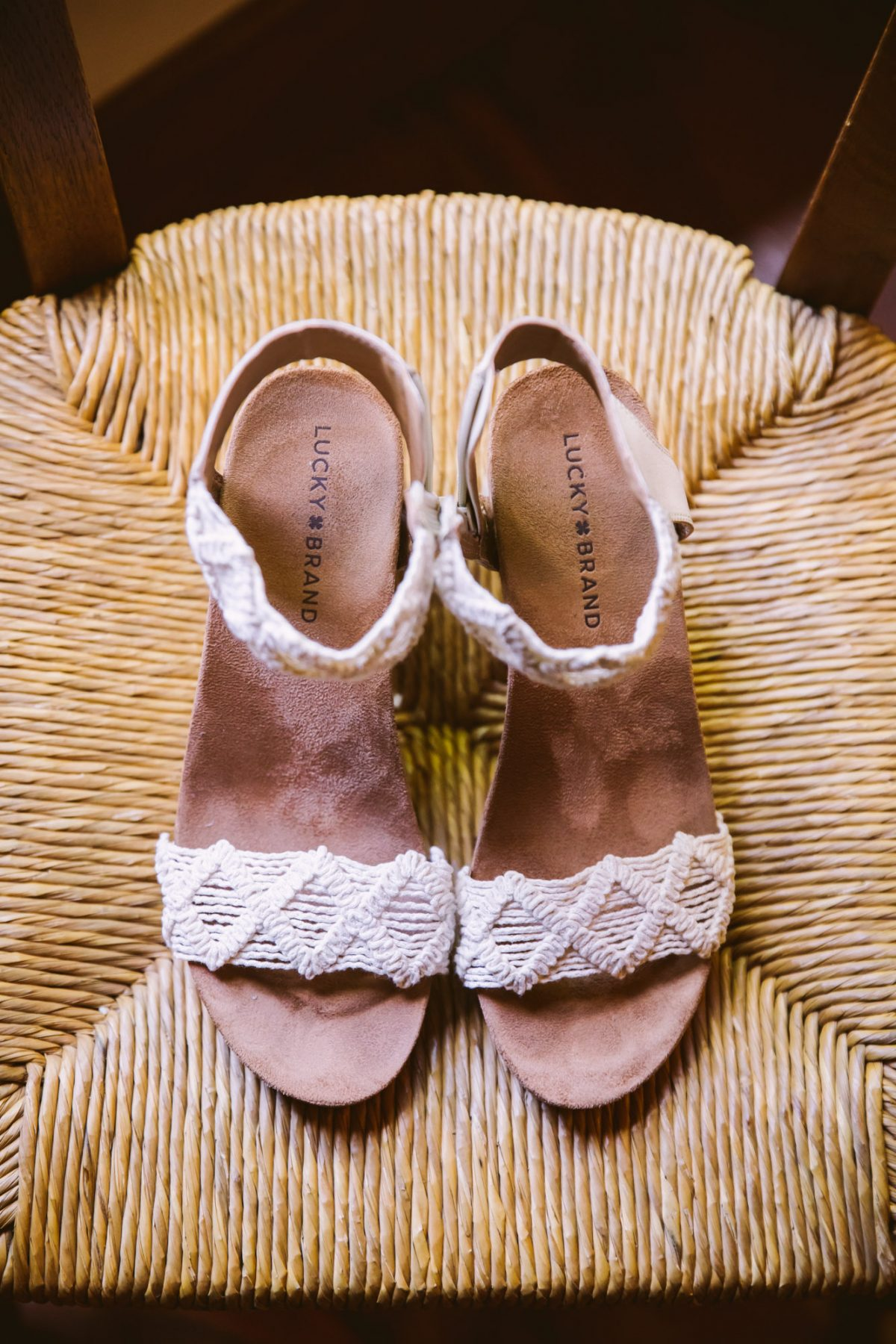 Lucky Brand Shoes The Vineyards at Betty's Creek Sylva NC Wedding Photographers