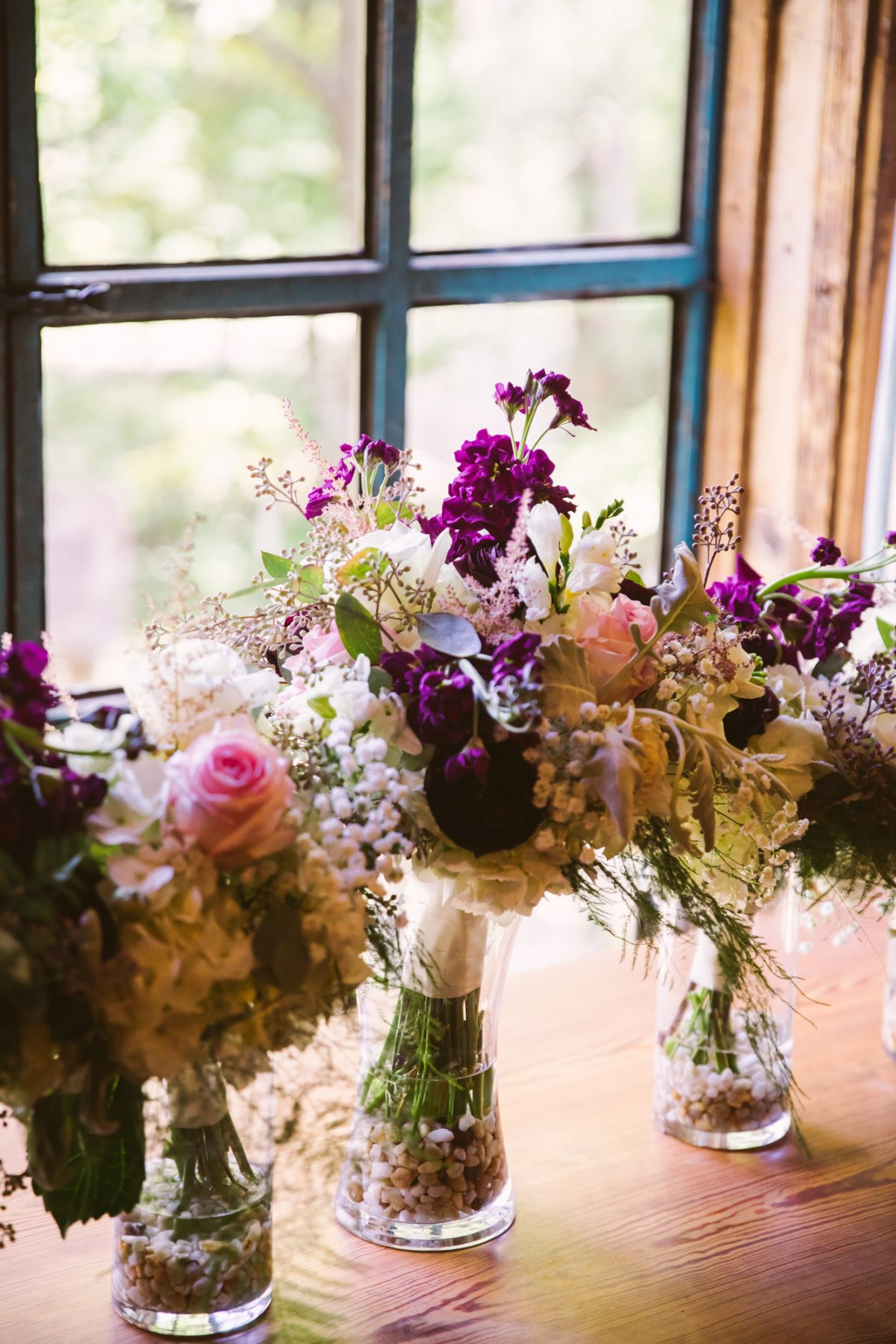Flower Bouquet The Vineyards at Betty's Creek Sylva NC Wedding Photographers