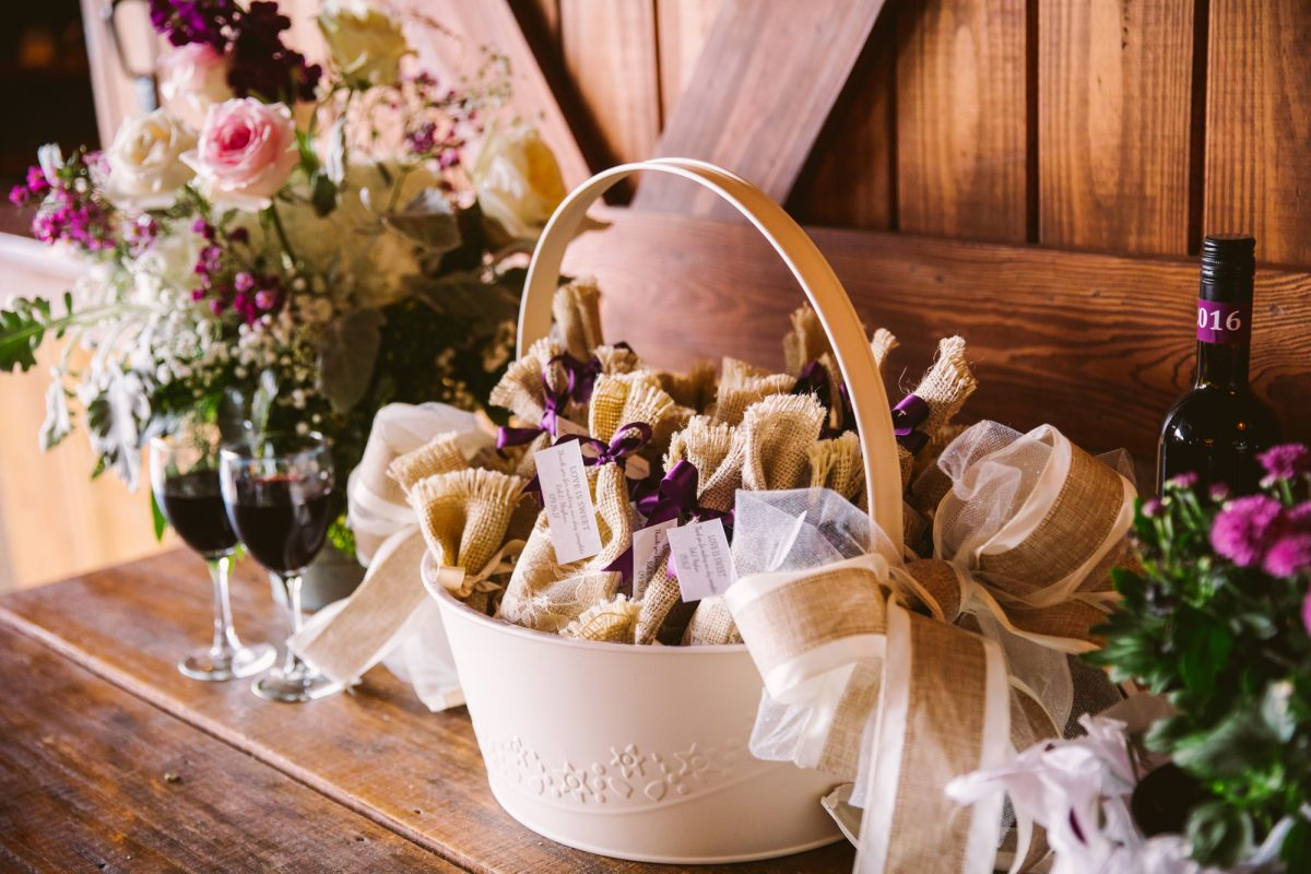 Wedding Favors The Vineyards at Betty's Creek Sylva NC Wedding Photographers
