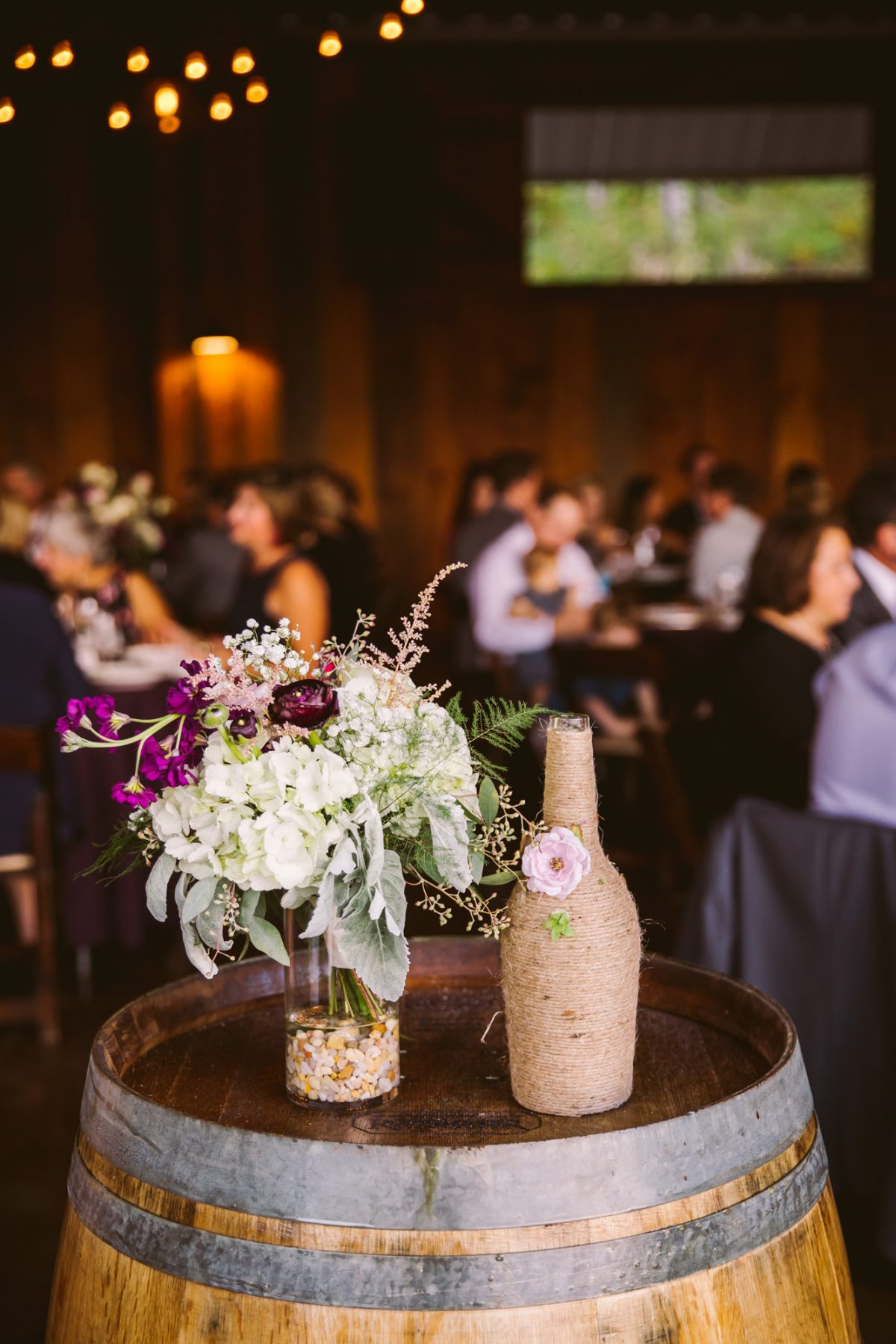 Reception Details The Vineyards at Betty's Creek Sylva NC Wedding Photographers