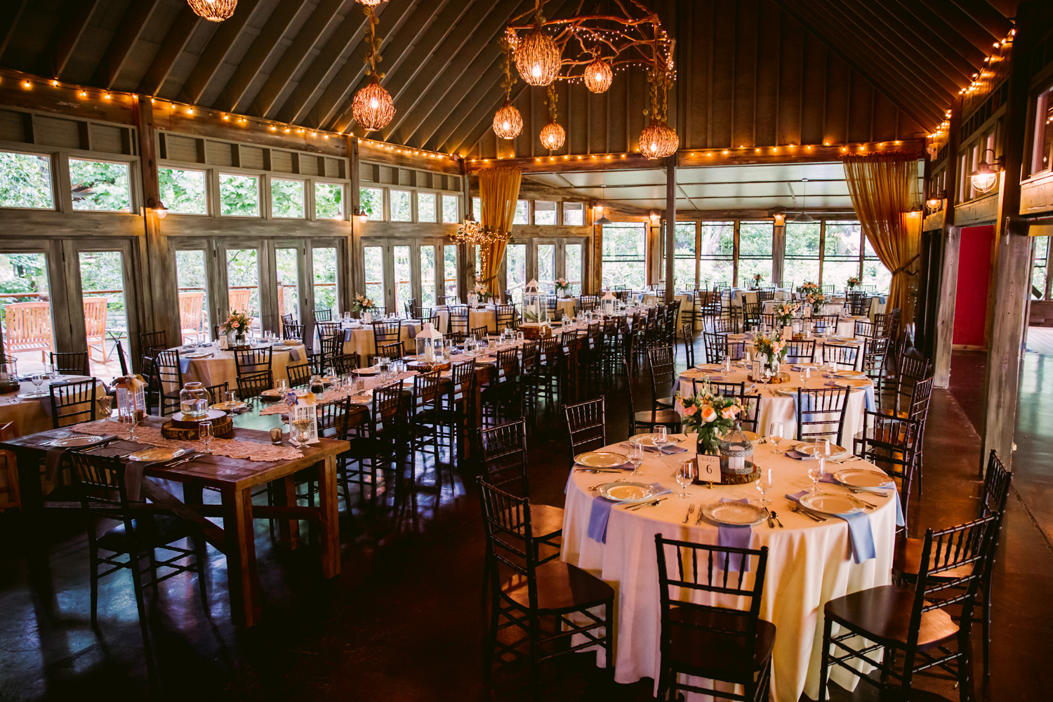 Reception Details Sawyer Family Farmstead Cashiers NC Wedding Photographers