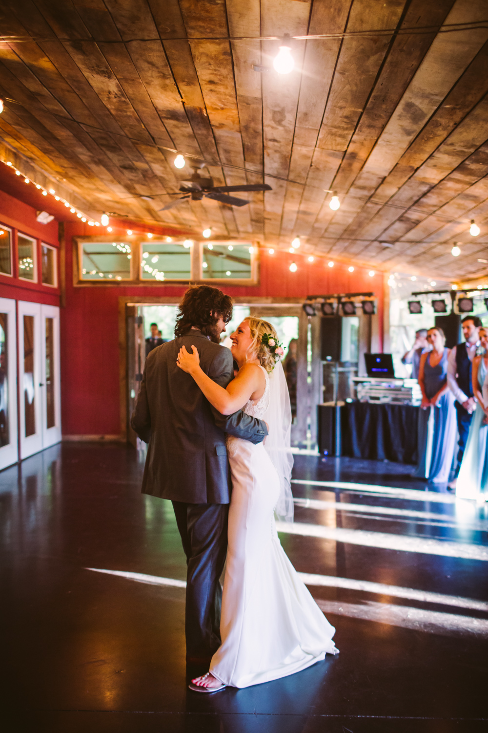 First Dance Sawyer Family Farmstead Cashiers NC Wedding Photographers
