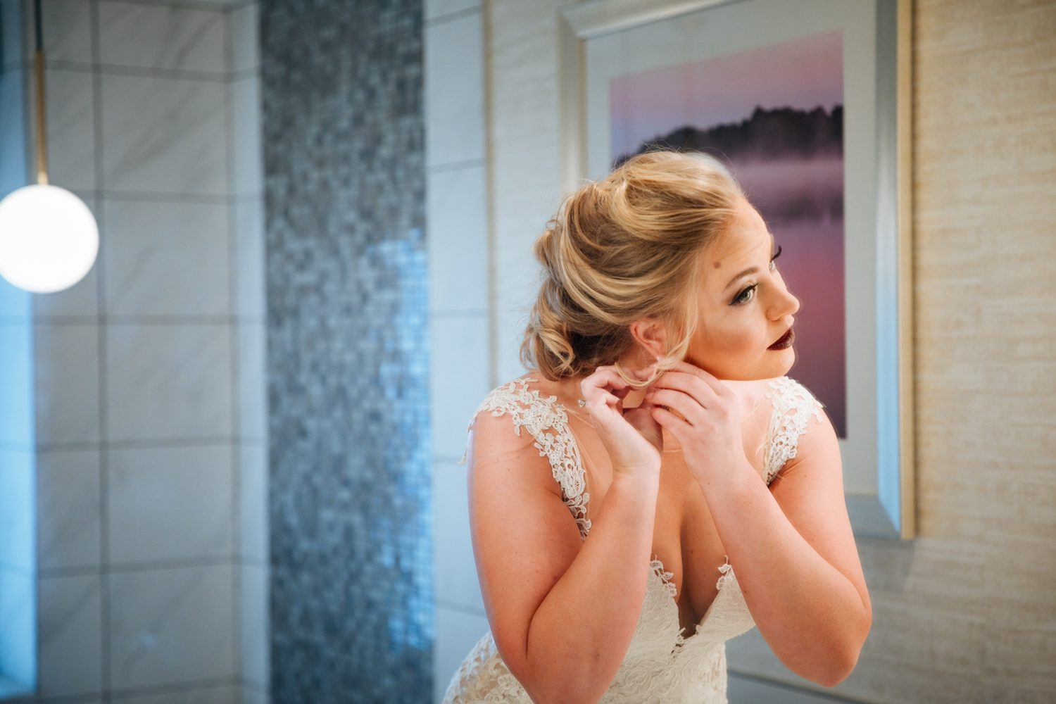 Wedding Bridal Prep Photo Asheville NC Wedding Photography