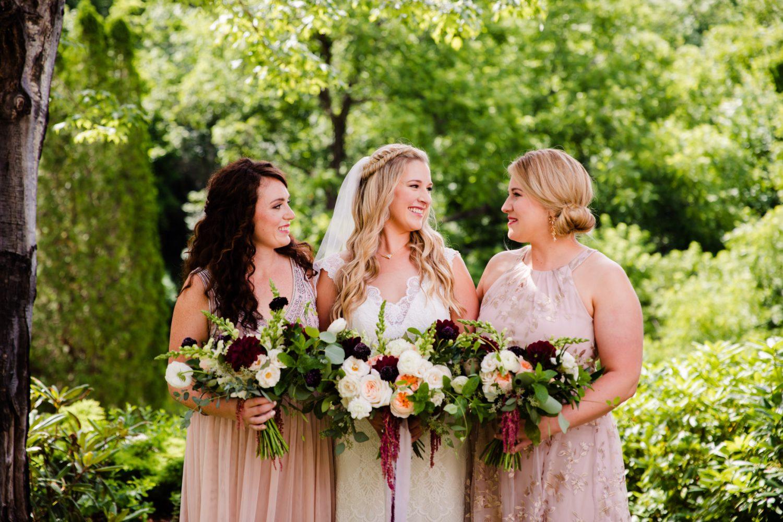 Bridesmaid Portrait Waynesville NC Wedding Photographers