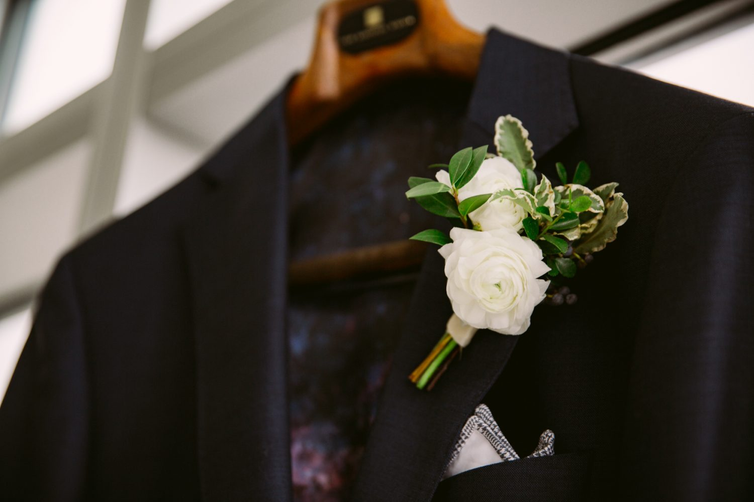 Wedding Boutonniere Asheville NC Wedding Photography