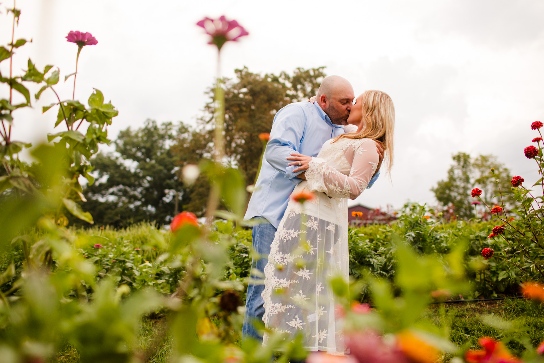 Engagement Portrait Session The Farm - A Gathering Place Candler NC Wedding Photography