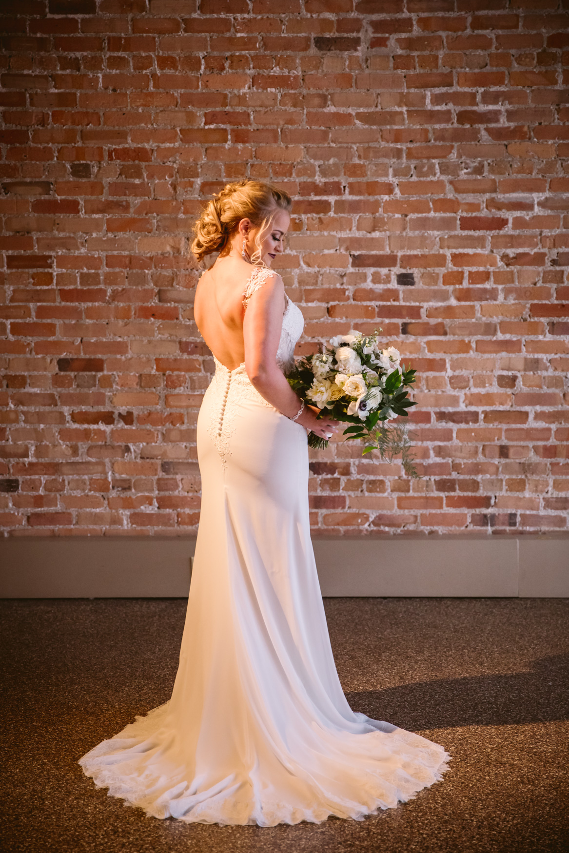 Wedding Bridal Portrait Asheville NC Wedding Photography