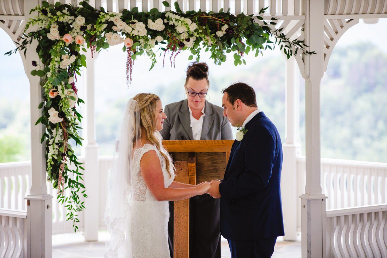 Wedding Ceremony Waynesville NC Wedding Photographers