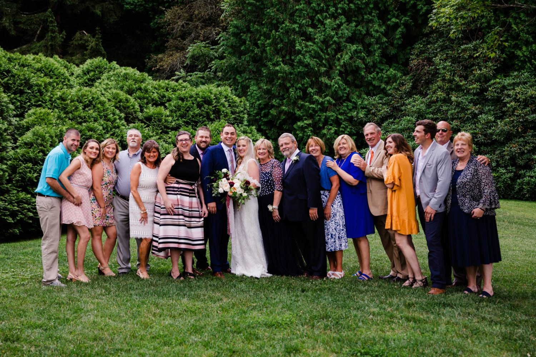 Wedding Family Portraits Waynesville NC Wedding Photographers