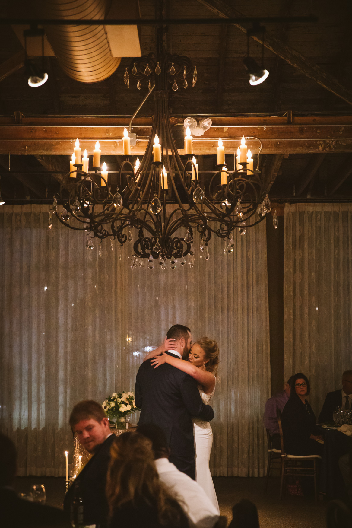Wedding First Dance The Venue Asheville NC Wedding Photography