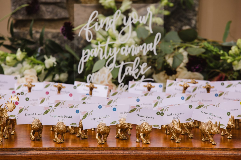 Wedding Reception Details Waynesville NC Wedding Photographers