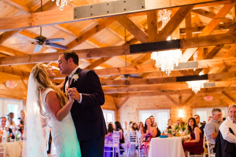 Wedding First Dance Waynesville NC Wedding Photographers