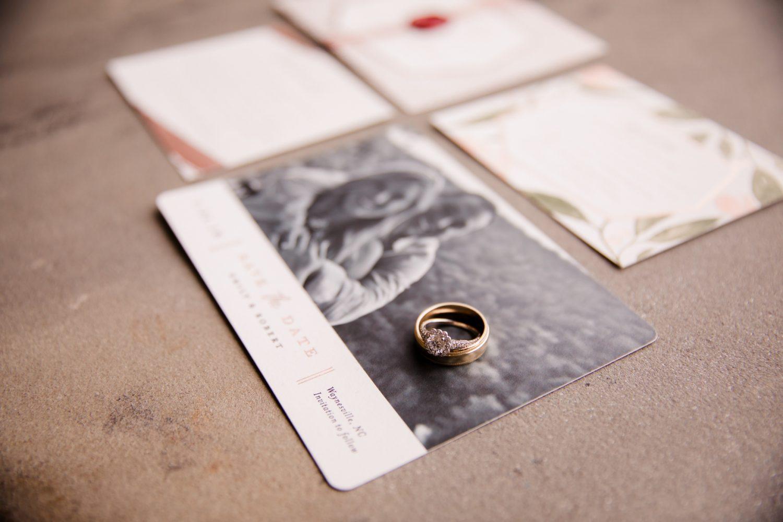 Wedding Ring Photo Waynesville NC Wedding Photographers