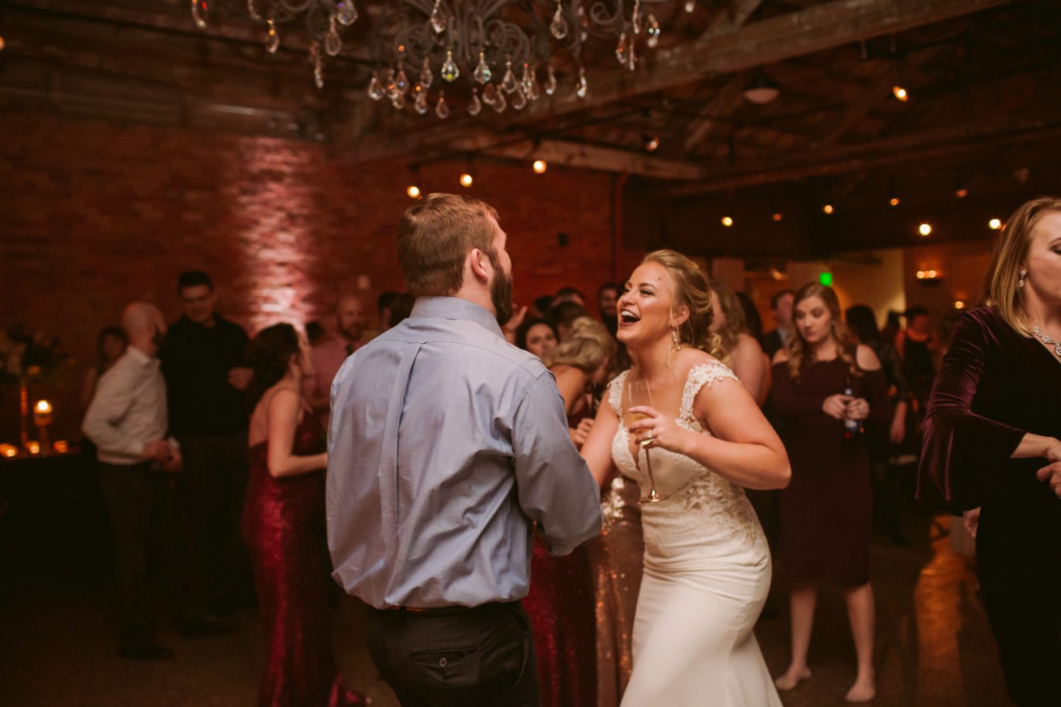 Wedding Dance Floor Asheville NC Wedding Photography