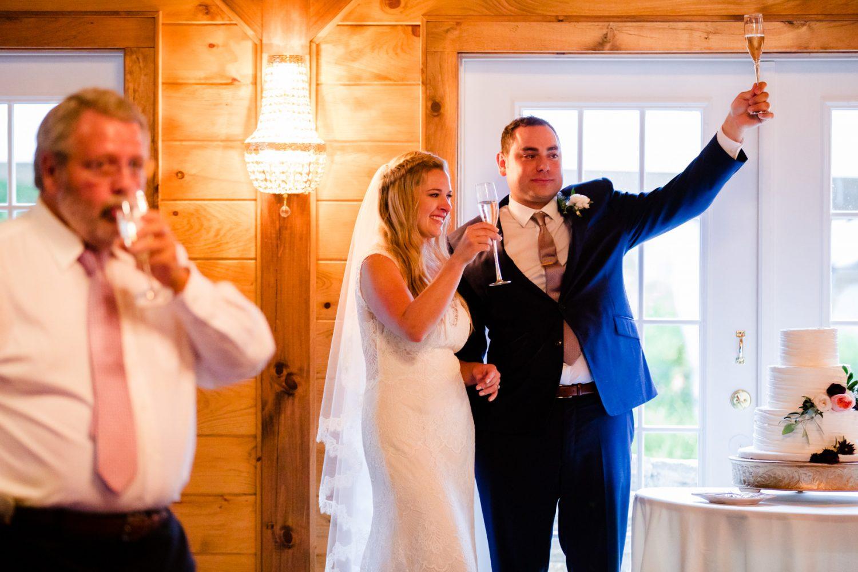 Wedding Toast Waynesville NC Wedding Photographers