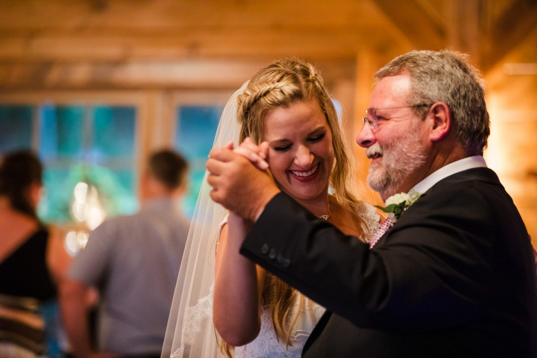 Father Daughter Dance Waynesville NC Wedding Photographers