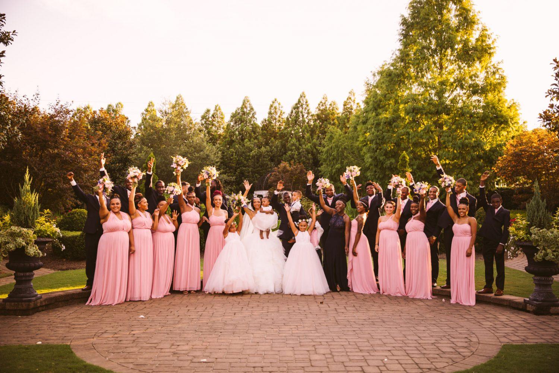 Waynesville Wedding Photography | Bridal Party Photo