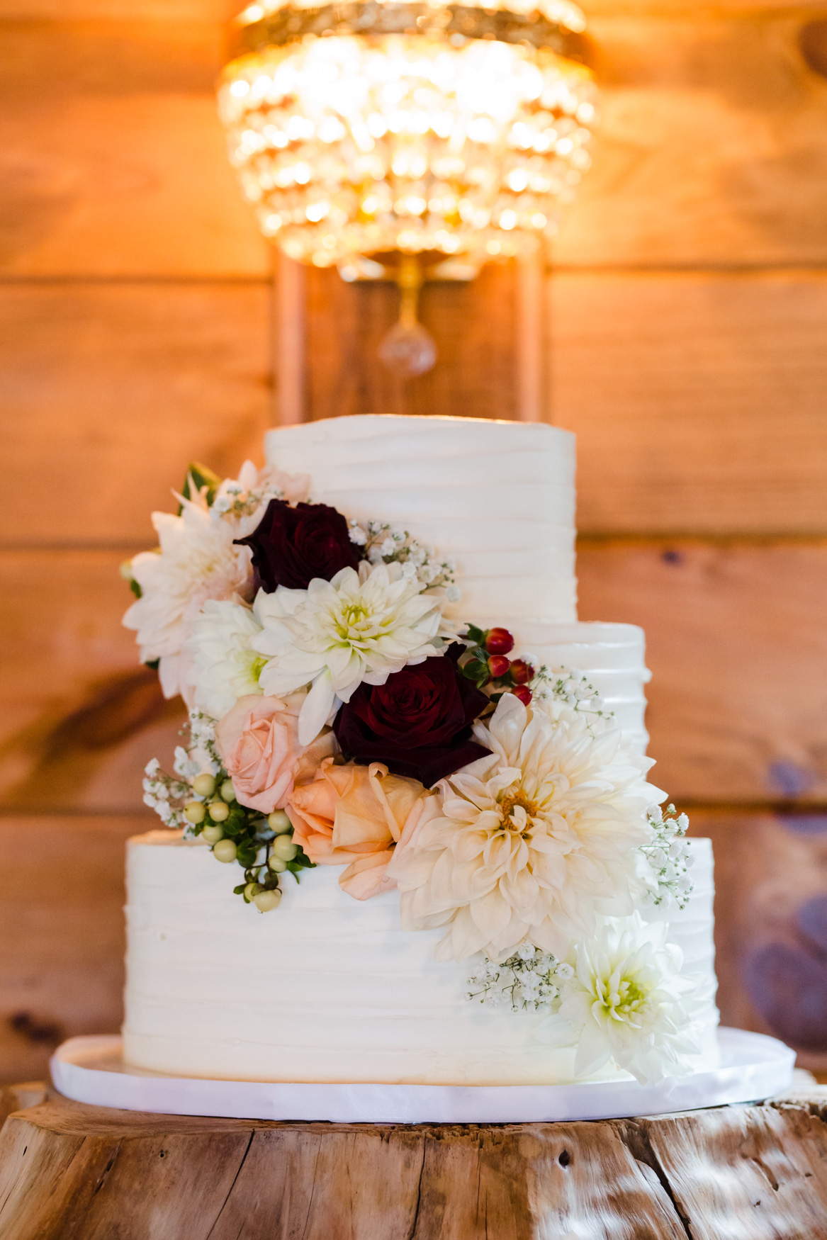 Wedding Cake Waynesville NC Wedding Photography