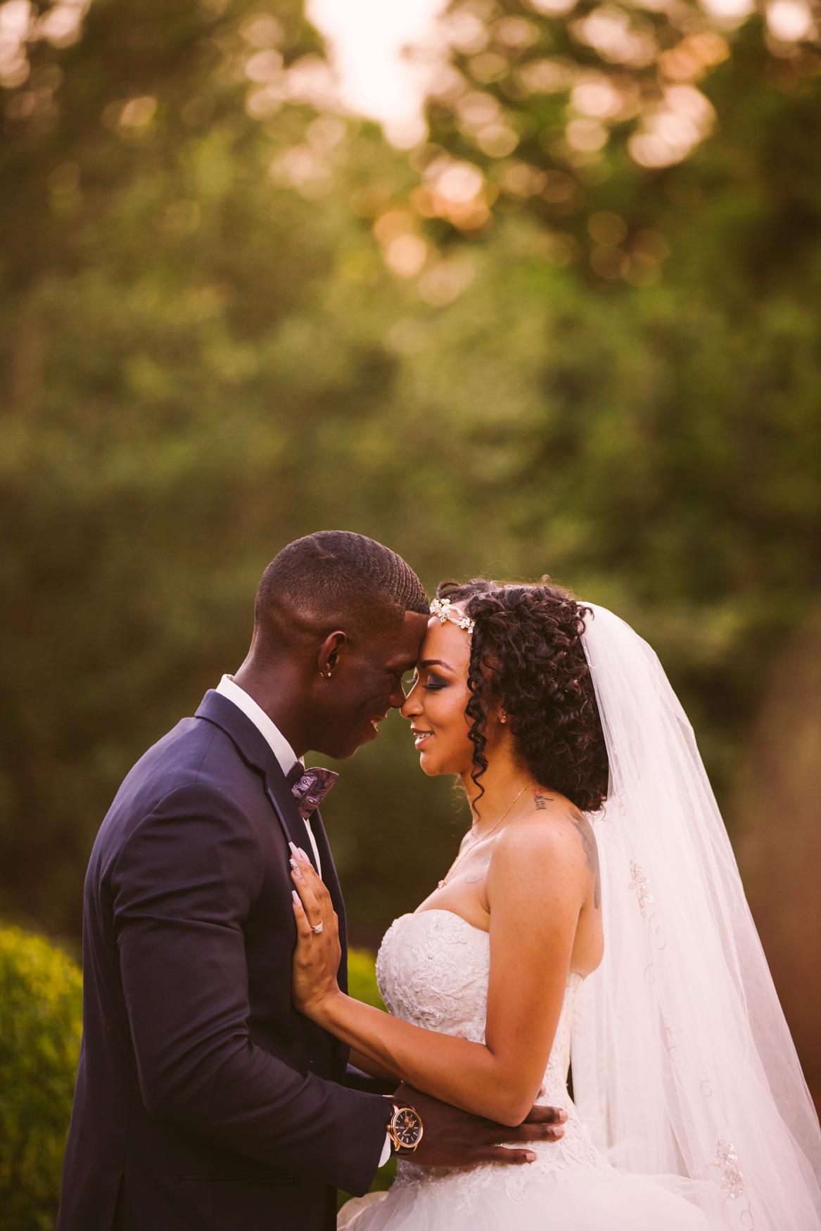 Waynesville Wedding Photography | Sunset Portrait