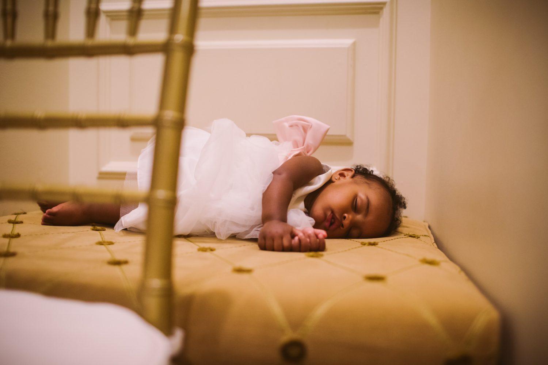 Waynesville Wedding Photography | Sleeping Baby