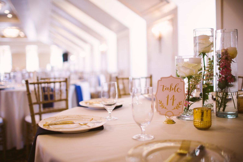Waynesville Wedding Photography | Table Centerpieces