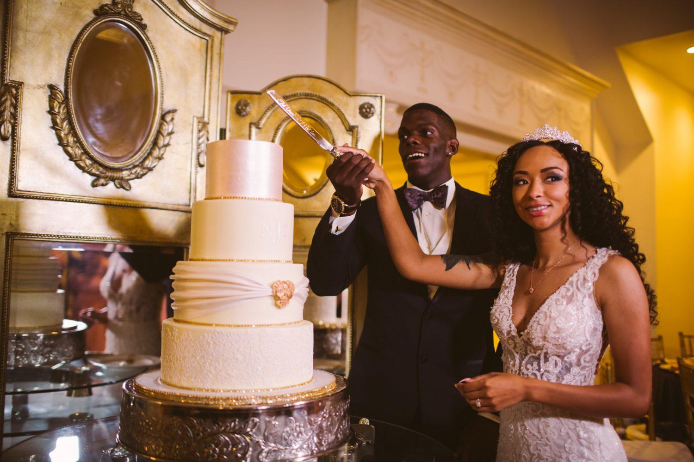 Waynesville Wedding Photography | Cake Cutting