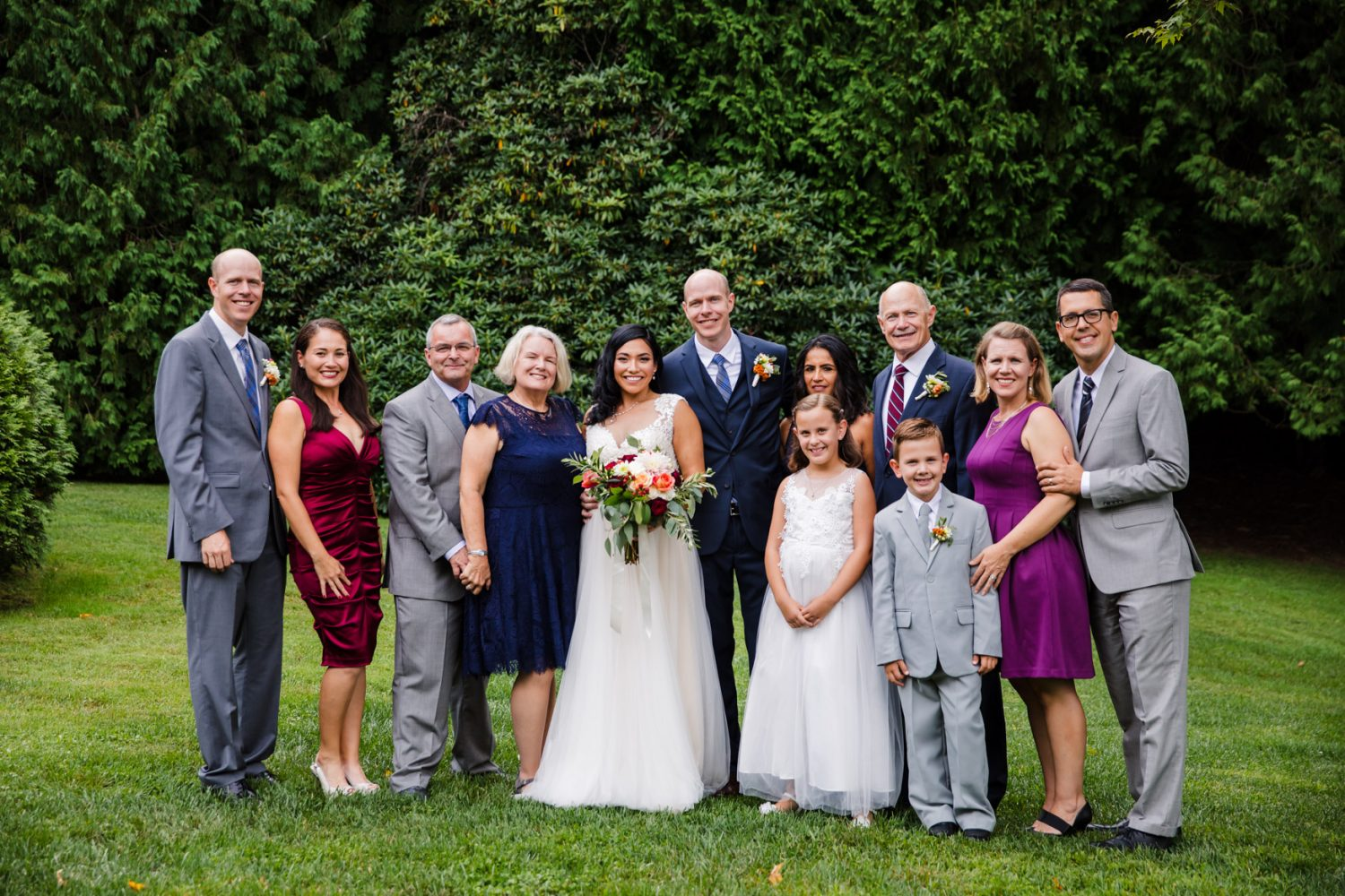 Family Portrait Waynesville NC Wedding Photography Inn at Tranquility Farm