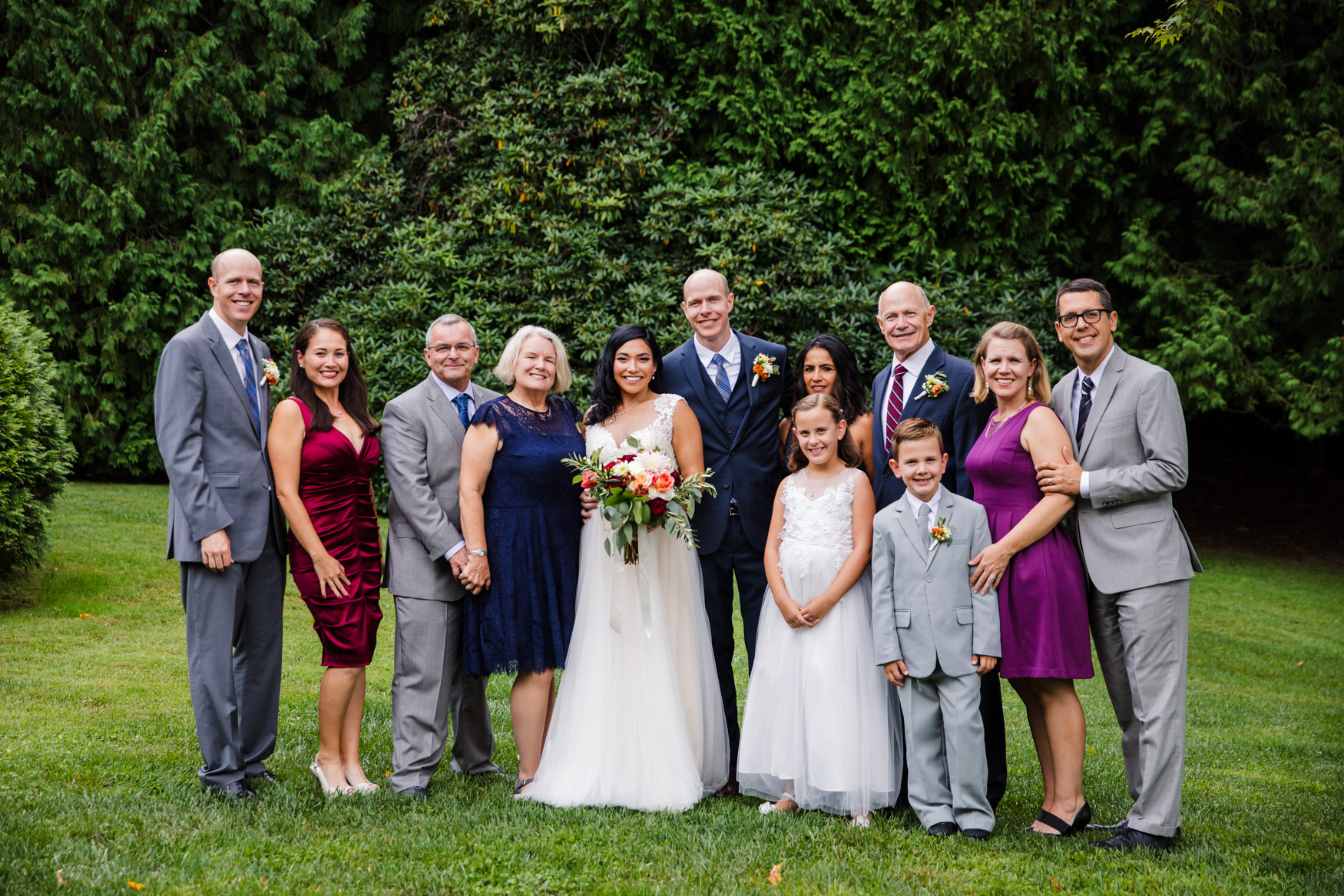 Family Portrait Waynesville NC Wedding Photography Inn at Tranquility Farm