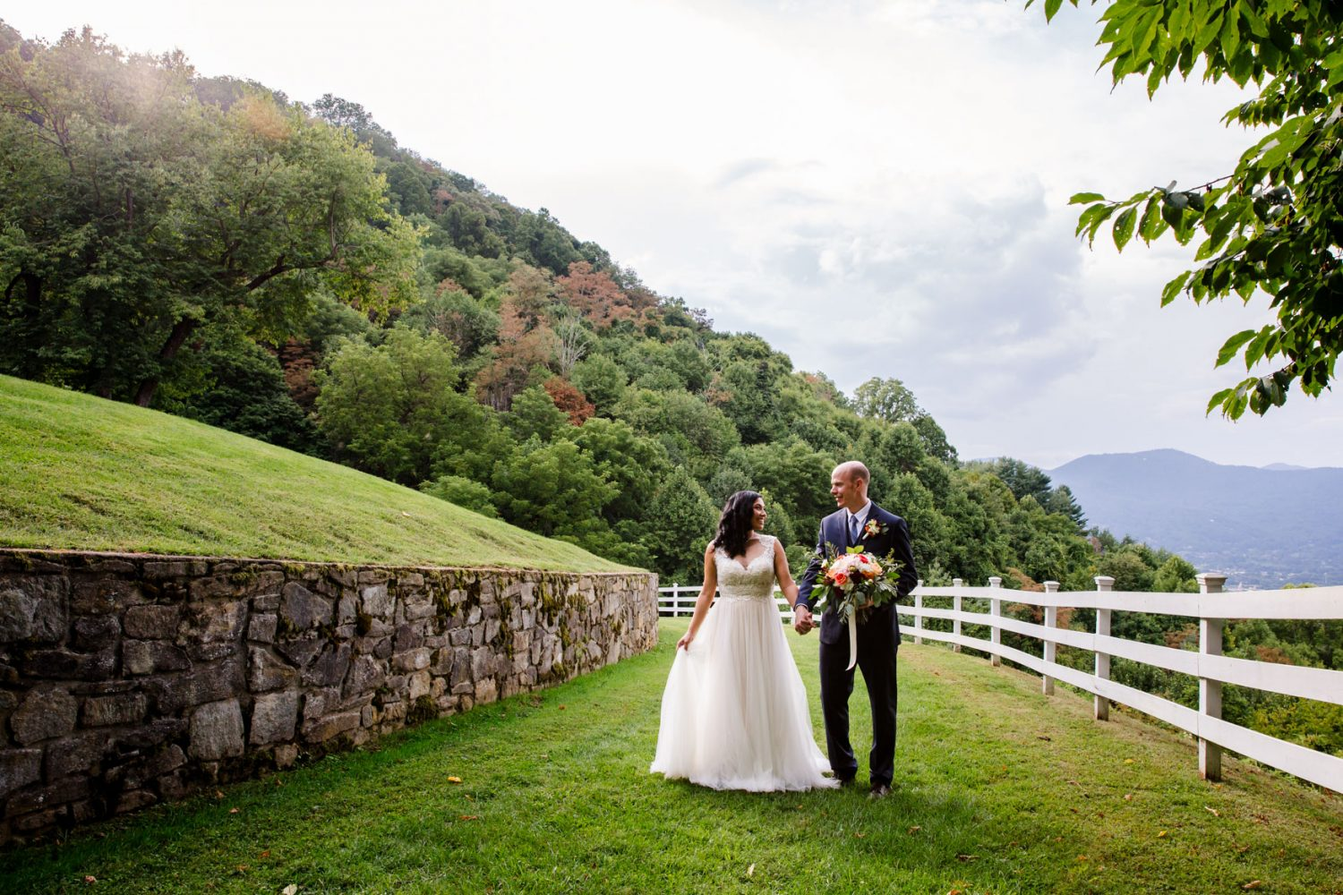 Couples Portrait Waynesville NC Wedding Photography Inn at Tranquility Farm