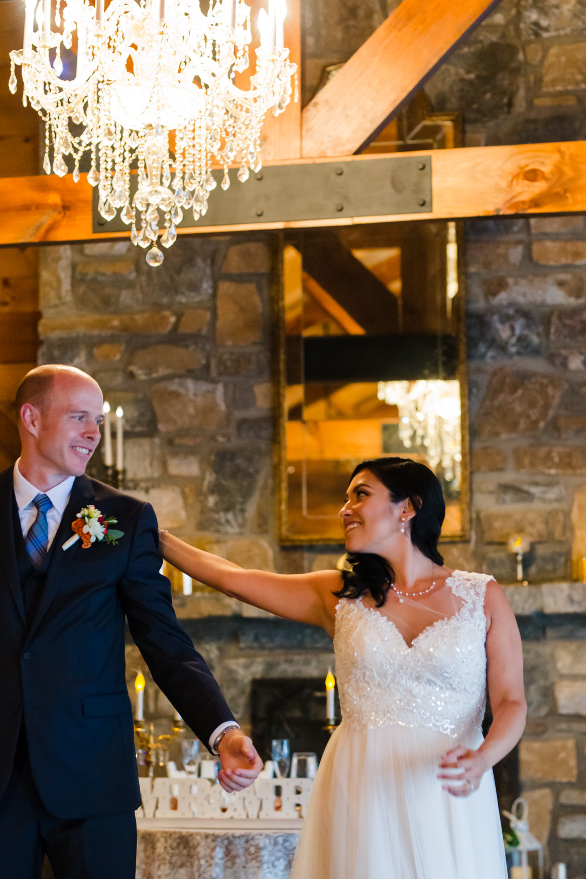 First Dance Waynesville NC Wedding Photography Inn at Tranquility Farm