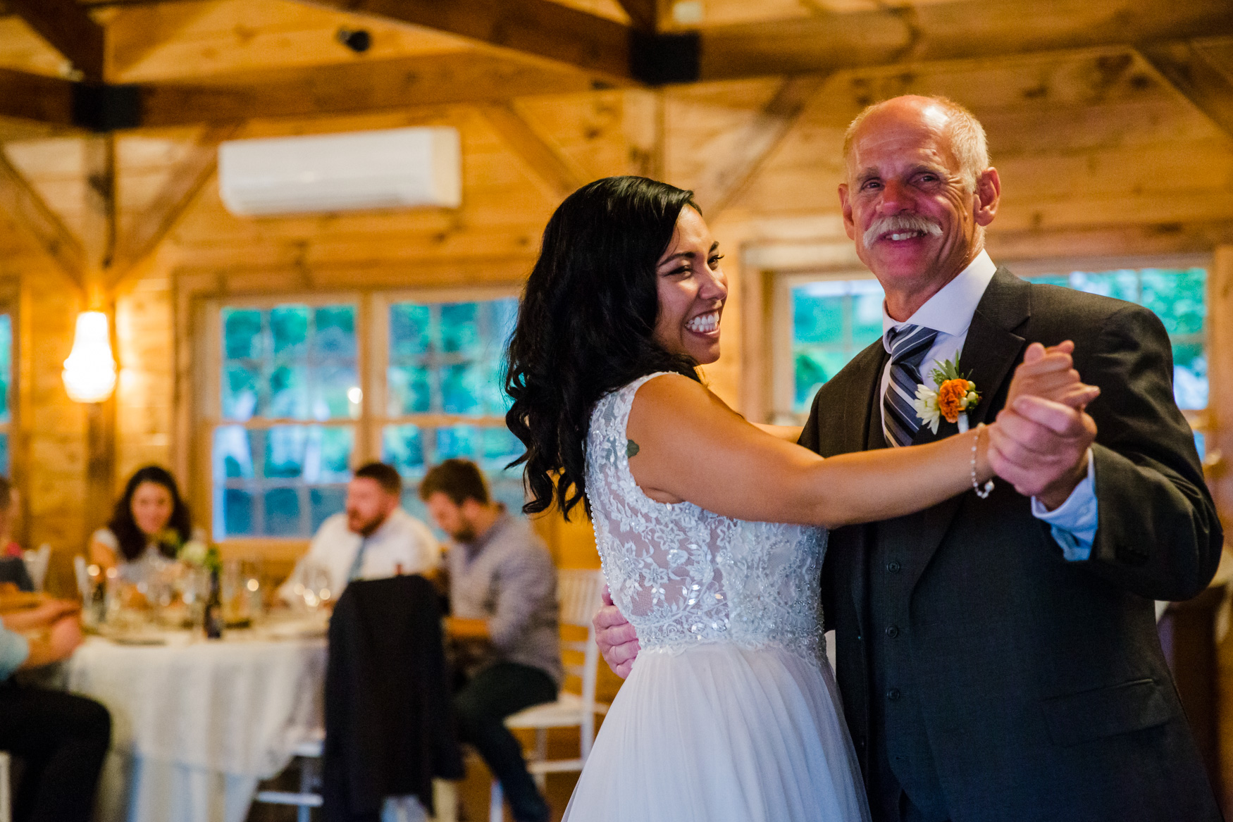 Father Daughter Dance Waynesville NC Wedding Photography Inn at Tranquility Farm