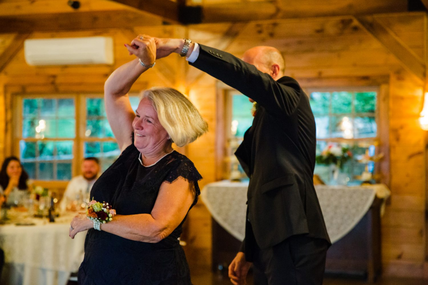 Mother Son Dance Waynesville NC Wedding Photography Inn at Tranquility Farm
