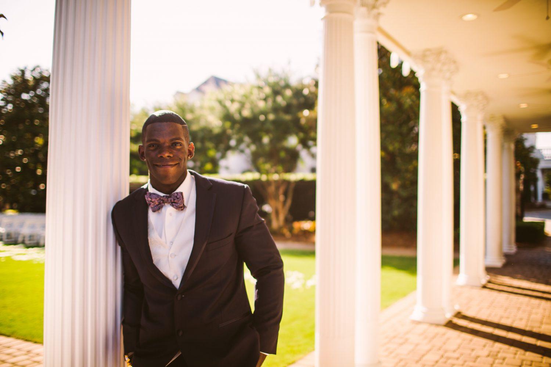 Waynesville Wedding Photography | Groom's Portrait
