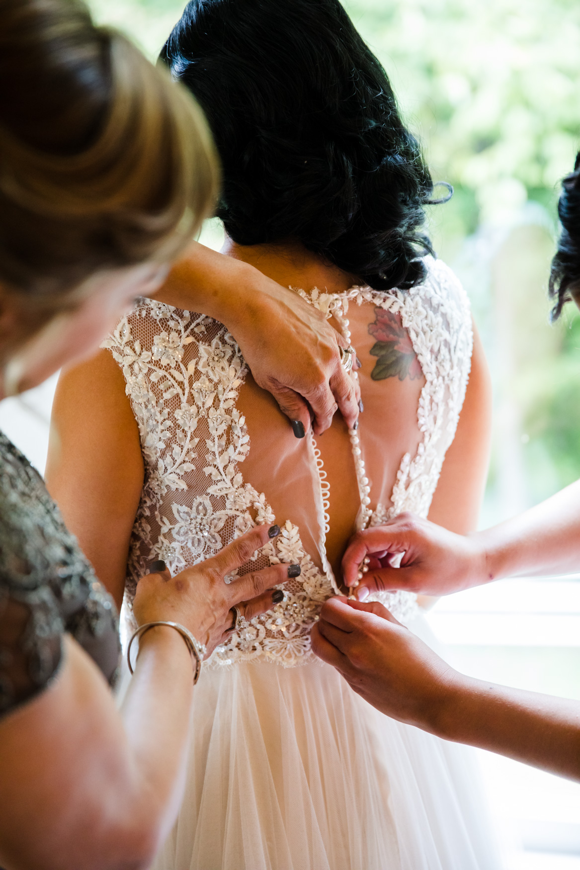 Bridal Prep Waynesville NC Wedding Photography Inn at Tranquility Farm