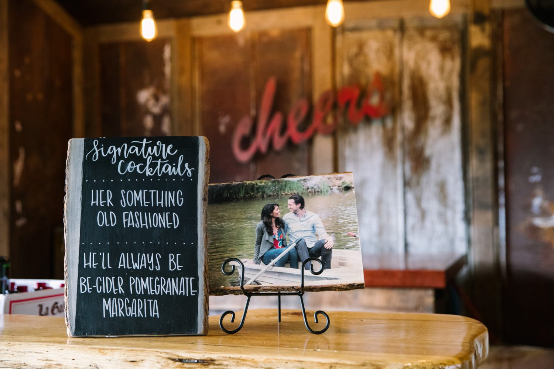 Waynesville NC Wedding Photography | Signature Cocktails