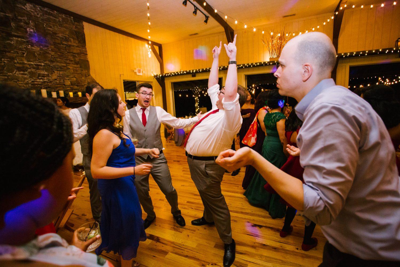 Waynesville NC Wedding Photography | Dance Floor Excitations