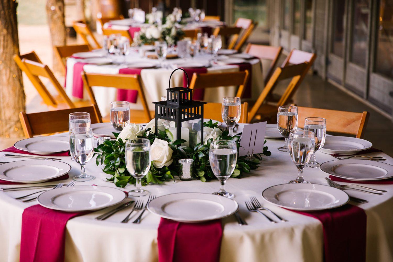 Waynesville NC Wedding Photography | Table Centerpieces