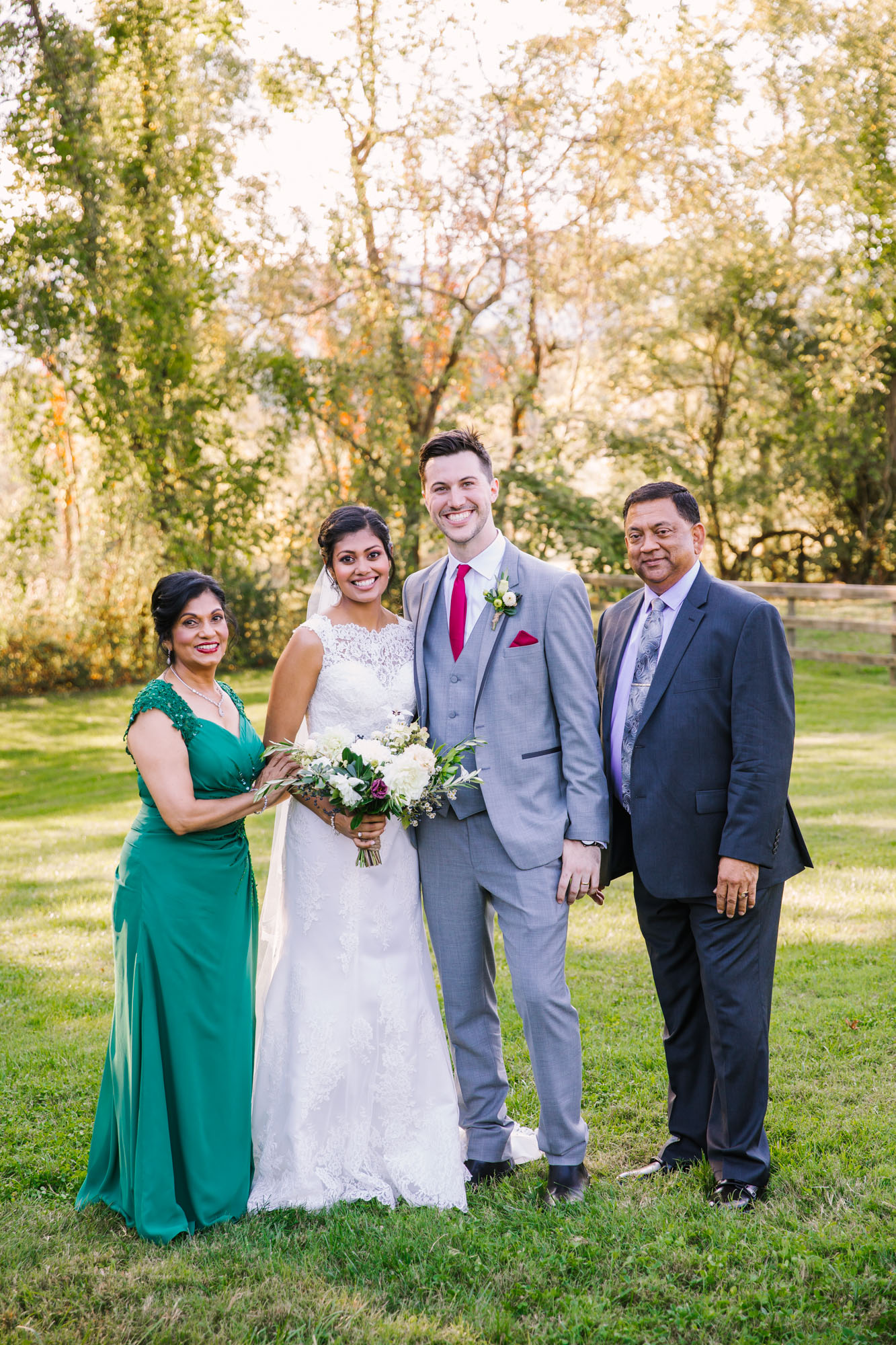 Waynesville NC Wedding Photography | Family Portrait