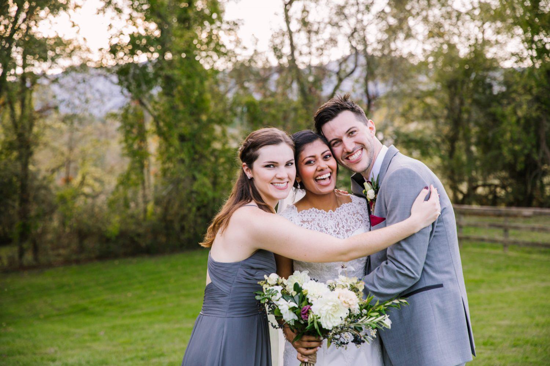 Waynesville NC Wedding Photography | Family Portrait Hugging