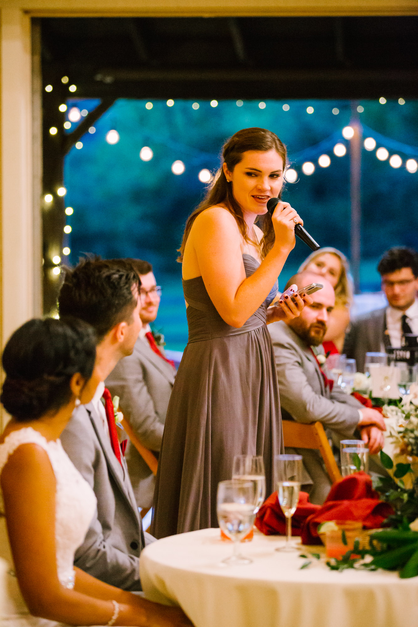 Waynesville NC Wedding Photography | Wedding Reception Speeches