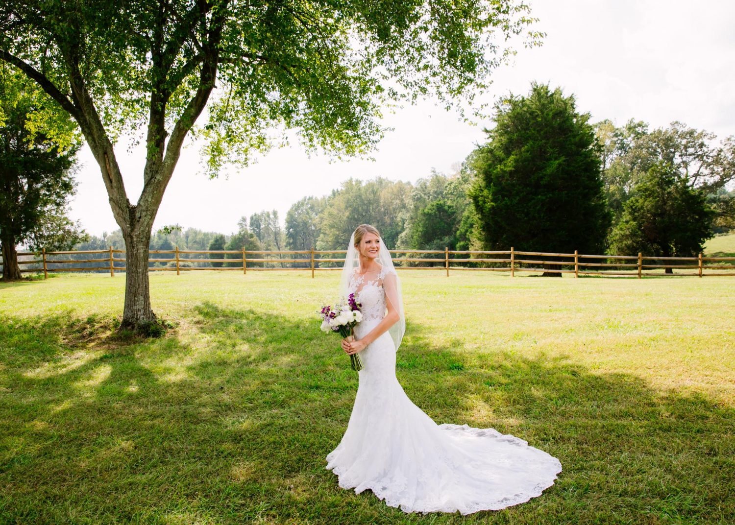 Waynesville, NC Wedding Photography | Bride Solo Portrait