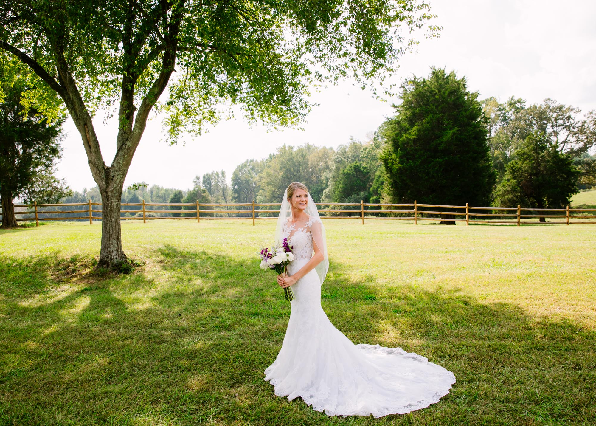 Waynesville, NC Wedding Photography | Bride Solo Portrait