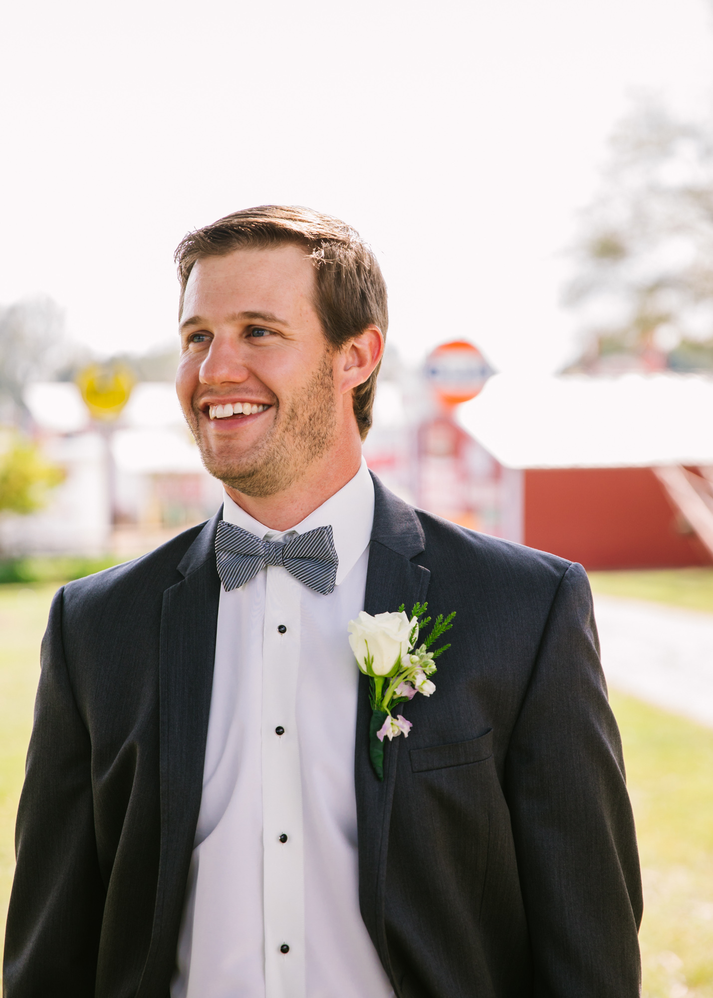 Waynesville, NC Wedding Photography | Groom Solo Portrait