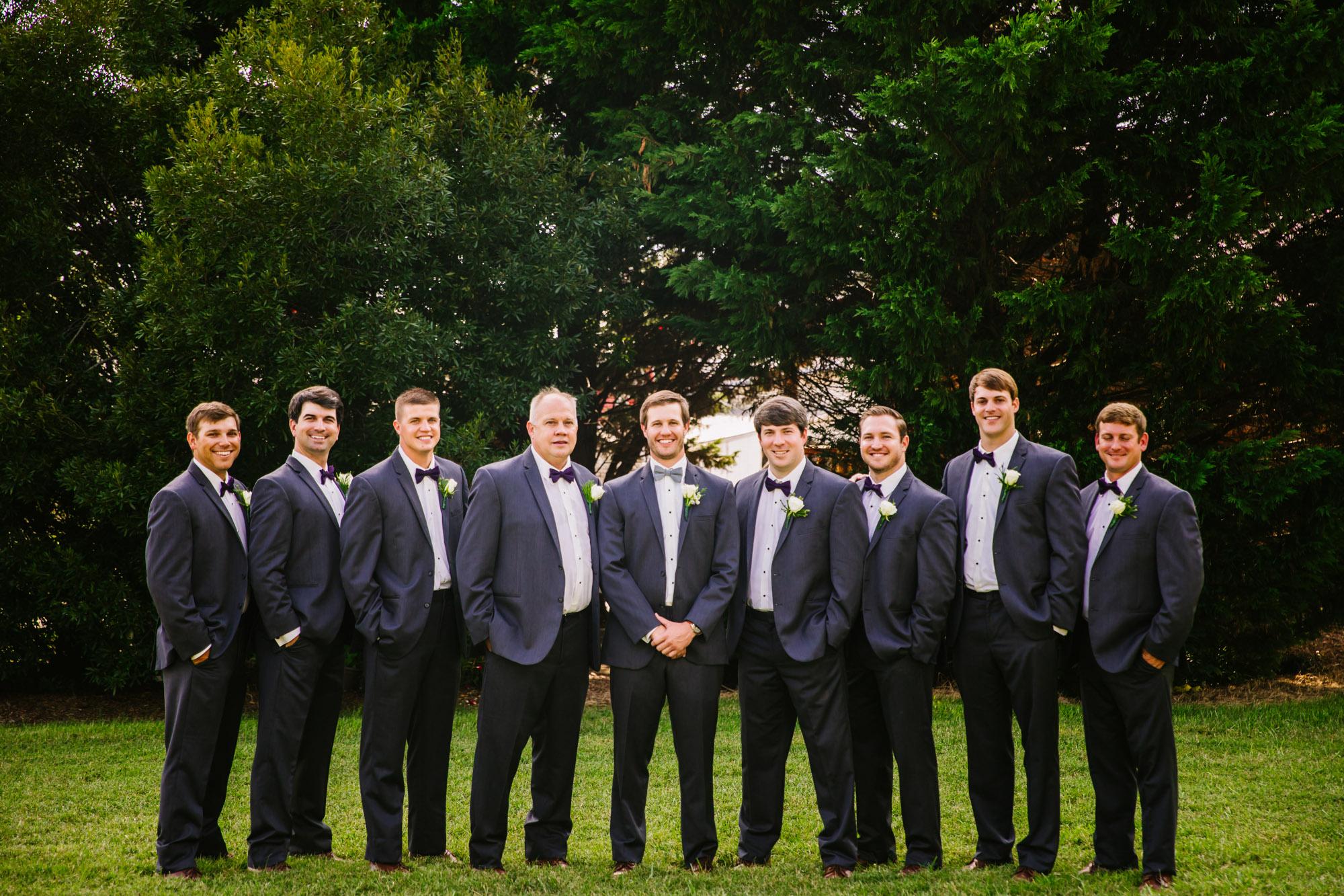 Waynesville, NC Wedding Photography | Groomsmen Portrait