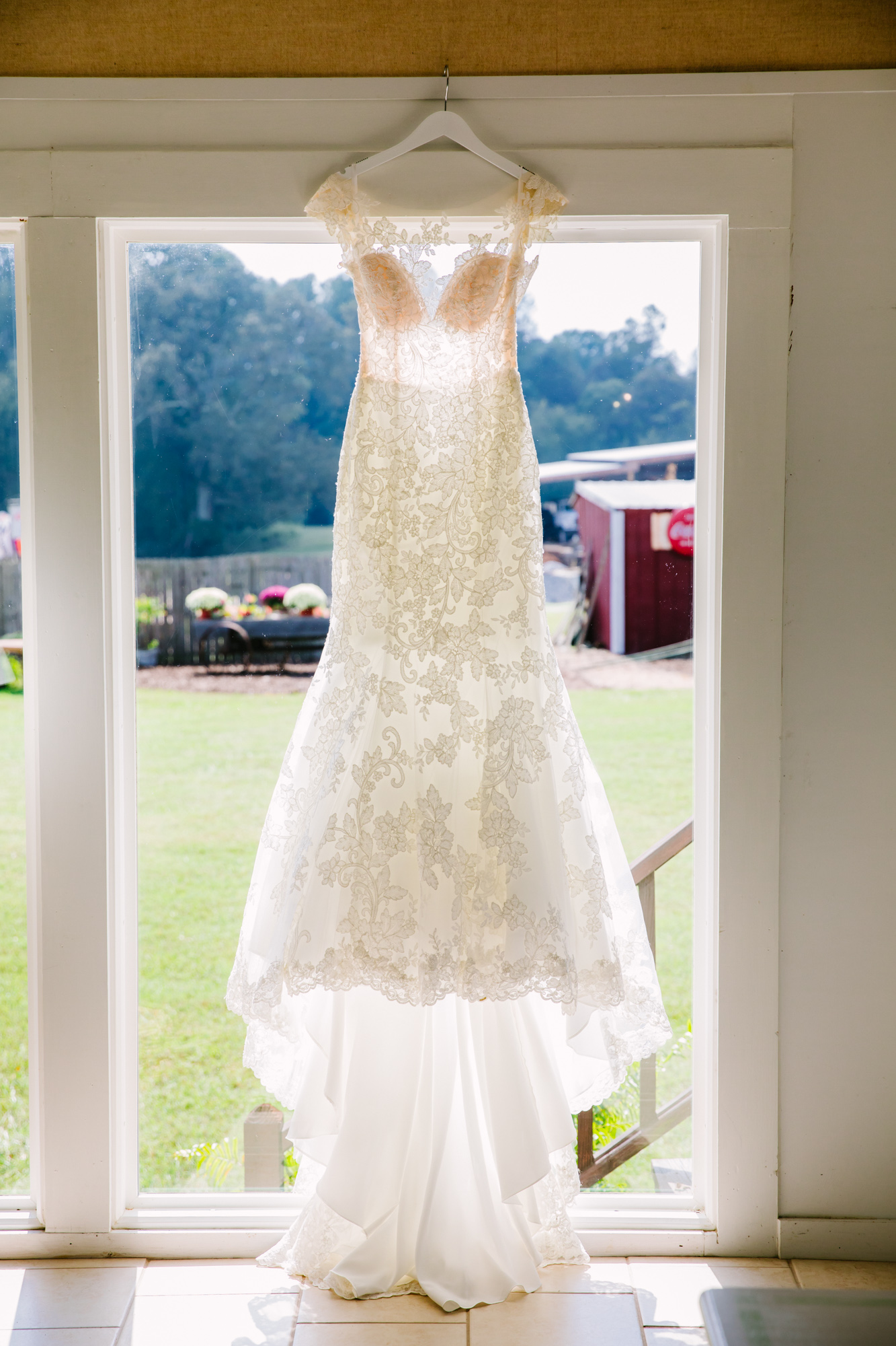 Waynesville, NC Wedding Photography | Wedding Dress
